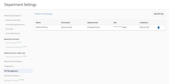 How Do I Fine my Integration API Consumer Key 2