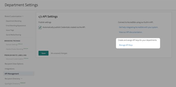 How Do I Fine my Integration API Consumer Key