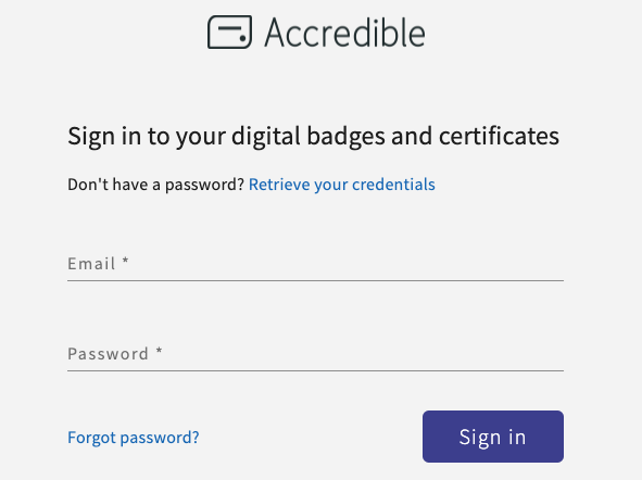 How Do I Login to My Credentials