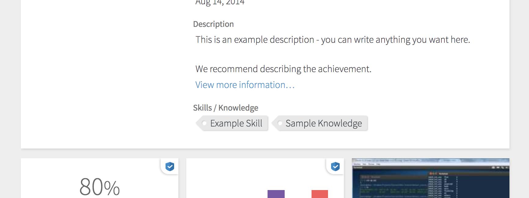 Adding Skills 1